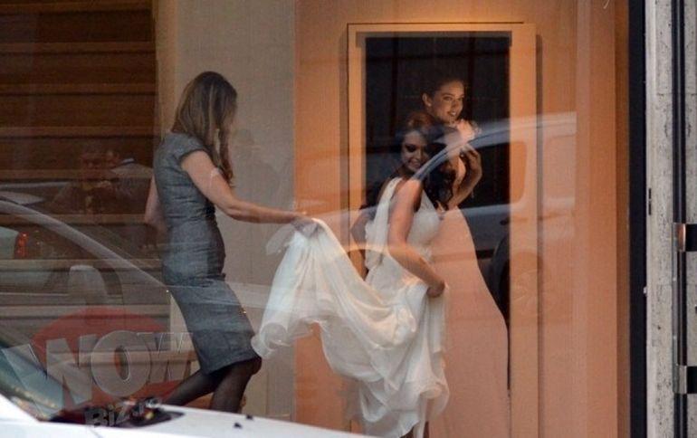 Raluca Lazarut se marita? Vedeta a fost surprinsa la un magazine proband o rochie de mireasa!