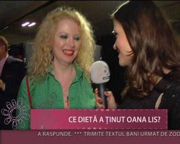 """Oana Lis, tot mai SLABA:""""La prima intalnire cu Viorel, aveam sosete in sutien"""" VDEO"""