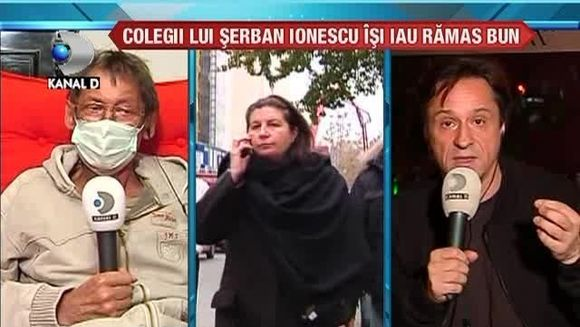 Serban Ionescu a disparut de pe scena vietii! Colegii lui isi iau ramas bun VIDEO