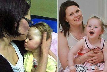 POVESTEA care a emotionat o planeta intreaga! O mama si-a readus fetita la viata cu un sarut in timp ce isi lua adio