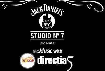 Bestmusic cu Directia 5: Jack Daniels Love Story in Hard Rock Cafe pe 15 noiembrie