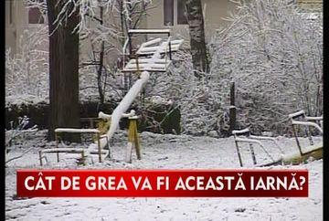 Meteorologii AVERTIZEAZA: ne asteapta o IARNA GREA! Vezi cand incepe si ce temperaturi se vor inregistra