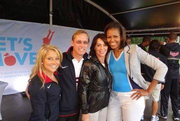 Nadia Comaneci e incantata ca Barack Obama a fost reales Presedinte al Statelor Unite