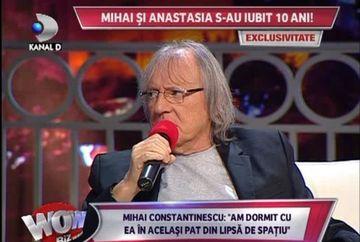 """Mihai Constantinescu: """"Am fost prins de sotie cu Anastasia in pat!"""""""