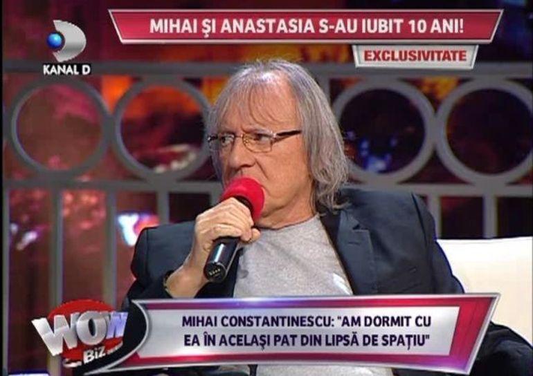 Mihai Constantinescu: Am fost prins de sotie cu Anastasia in pat!