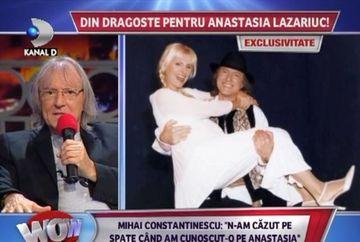 """Mihai Constantinescu a vorbit deschis despre povestea de dragoste cu Anastasia Lazariuc: """"A fost o iubire reciproca care a durat 10 ani!"""""""