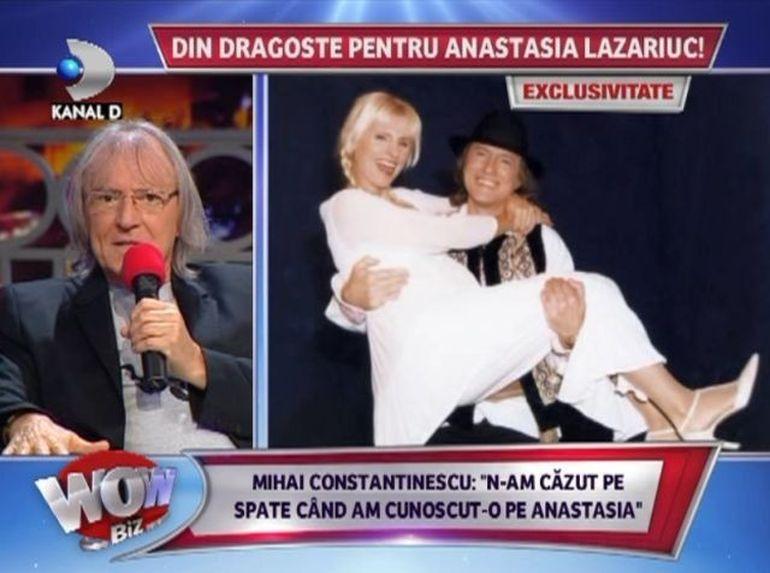 Mihai Constantinescu a vorbit deschis despre povestea de dragoste cu Anastasia Lazariuc: A fost o iubire reciproca, o perioada foarte frumoasa!