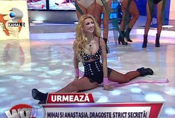 Andreea Balan a facut spagatul in direct la WOWbiz! Uite ce i-a facut o dansatoare lui Madalin Ionescu - Andreea Mantea a ramas WOW