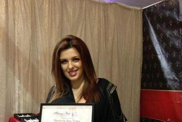 Diana Bisinicu este in culmea fericirii! Colectia ei de bijuterii pentru mirese a fost premiata