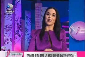 "Bianca Ionita:"" Bunica mea sufera de cancer la san"""