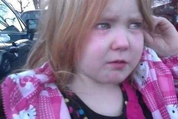 """VIDEO VIRAL: """"M-am saturat de Bronco Bamma si Mitt Romney"""". Fetita care plange cand aude de alegeri"""