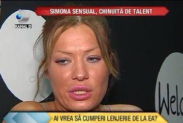 O chinuie talentul: Simona Sensual s-a apucat sa faca chiloti si sutiene! Ai cumpara lenjerie intima de la ea? VIDEO