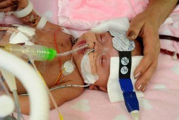 CUTREMURATOR! Parintii sunt disperati: viata fetitei lor de 3 luni depinde de un transplant de inima FOTO