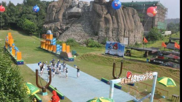 Chinezii dau lovitura in materie de parcuri de distractie! Vor construi primul Angry Birds Land din lume!
