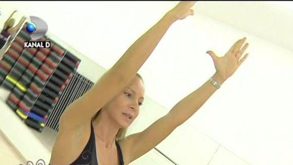 Cori Gramescu te invata exercitii de inviorare! VIDEO