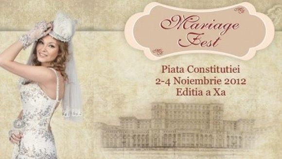 Aveti planuri de nunta? Veniti la Mariage Fest, intre 2-4 noiembrie!