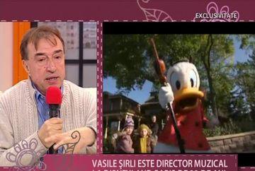 POVESTEA de succes a romanului Vasile Sirli. E director muzical la Disneyland Paris de 22 de ani VIDEO