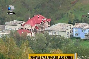 Romanii care au gasit leac pentru CRIZA! Se intrec in palate VIDEO