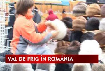 Val de frig in Romania! Afla PROGNOZA METEO pentru zilele urmatoare VIDEO