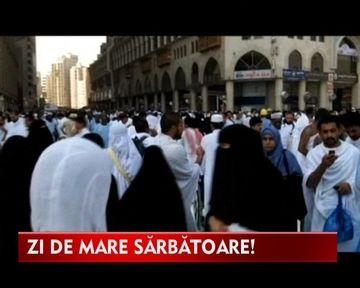 3 milioane de musulmani se roaga la Mecca anul acesta! VIDEO