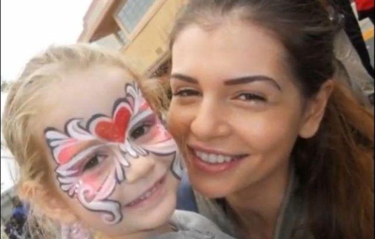 Monica Gabor, mesaj emotionant pentru fiica ei! Vezi cat sufera vedeta!