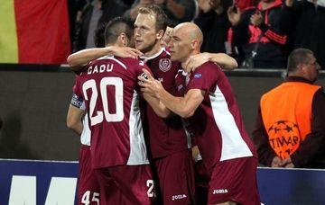 CFR Cluj a obtinut un egal eroic pe terenul Galatei