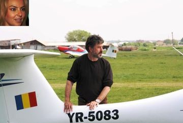 Roxana Ionescu e revasita dupa ce a aflat ca pilotul alaturi de care a zburat s-a prabusit cu avionul