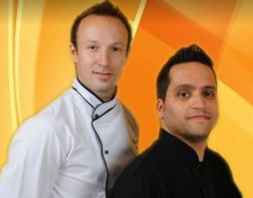 Duo de MasterChef! Alex Cirtu si Mehrzad Moghazehi gatesc din nou impreuna! Vezi ce meniu au pregatit!