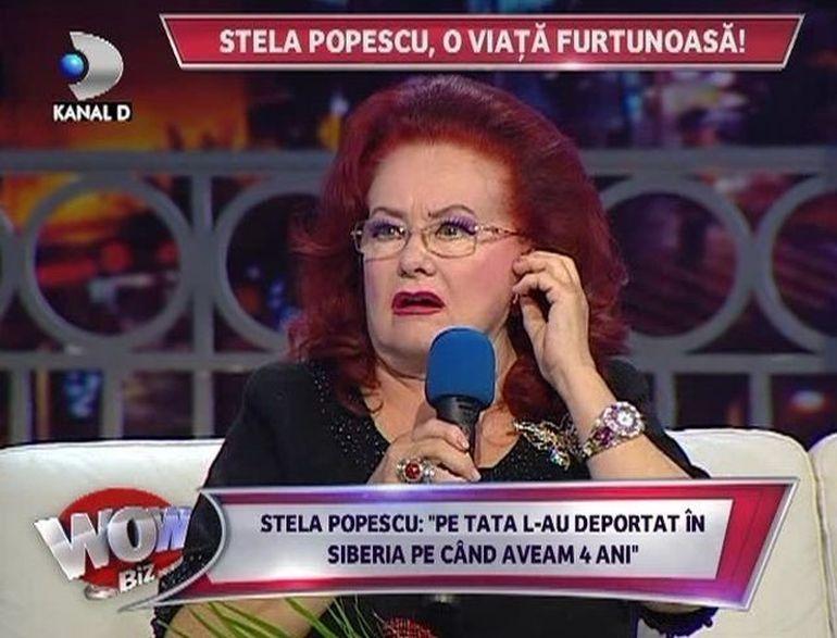 Drama in viata Stelei Popescu! Tatal ei a stat 18 ani in Siberia unde s-a hranit cu vrabii si coji din copac!!