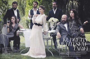 """ACTORII din """"Suleyman Magnificul"""", in revista VOGUE din Turcia. INTERVIURI de EXCEPTIE despre personajele pe care le interpreteaza FOTO"""