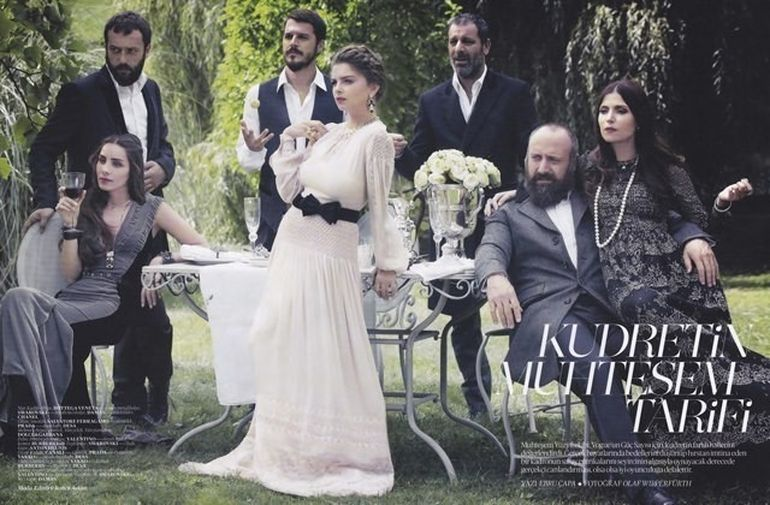 ACTORII din Suleyman Magnificul, in revita VOGUE din Turcia. INTERVIURI de EXCEPTIE despre personajele pe care le interpreteaza FOTO