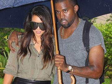 La ea dragostea chiar trece prin stomac! Kim Kardashian s-a ingrasat 12 kilograme de cand e cu Kanye West!