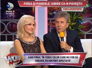 """Casatoria dintre Florentin Pandele si Gabi Firea, la un pas sa nu se produca: """"O persoana extrem de importanta i-a spus Gabrielei sa nu se marite cu mine!"""""""
