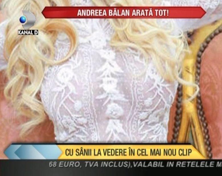 Andreea Balan NE ARATA TOT! E CU SANII LA VEDERE in cel mai nou videoclip VIDEO