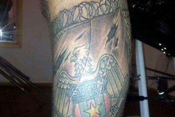 """Cel mai infocat fan! Caddy si-a tatuat emblema Stelei pe picior: """"A durat mai bine de 10 ore"""""""