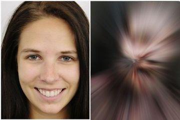 Transformare SPECTACULOASA: Cum arata o actrita dupa ce a fost machiata! FOTO