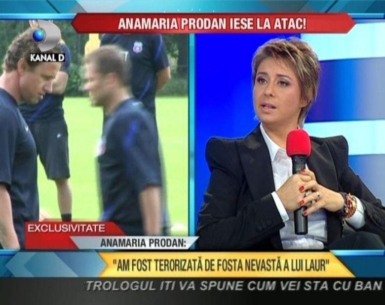 Ana Maria Prodan iese la atac! Ii declara RAZBOI fostei sotii a lui Reghecampf VIDEO