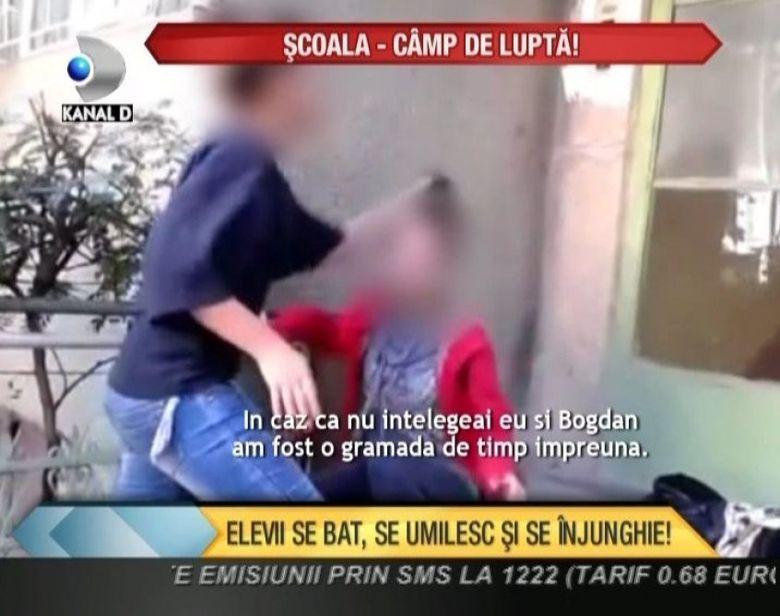 Elevii se bat, se umilesc si se injunghie! Copilul tau este in siguranta la scoala? VIDEO