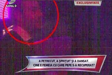 """""""Menage-a- trois"""" cu Pepe, Adrian Cristea si o bruneta! Uite ce dezmat au facut in club!"""