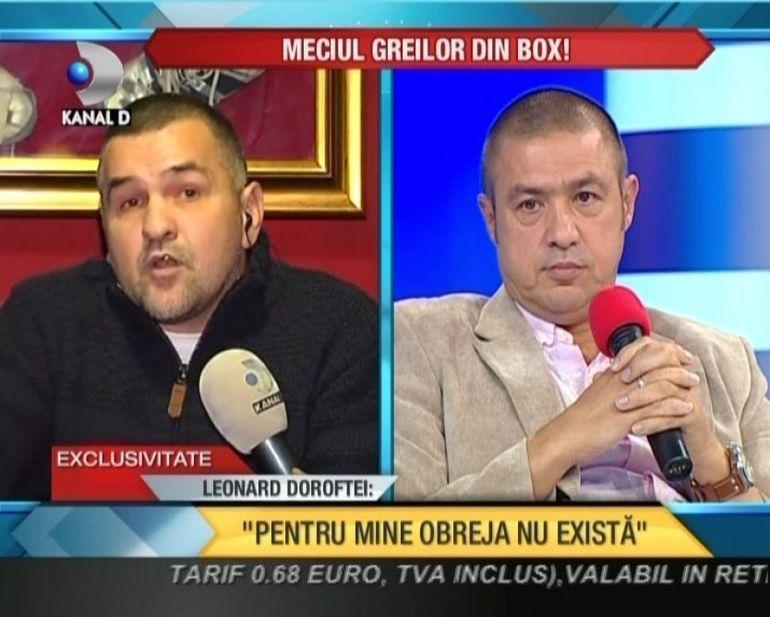 SCANDAL MONSTRU in lumea boxului: Rudel Obreja si Leonard Doroftei sunt LA CUTITE! Vezi ce si-au spus fata in fata VIDEO