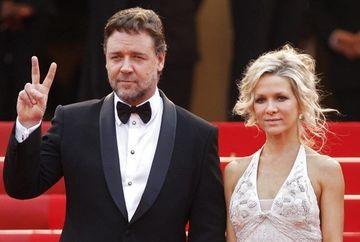 Russell Crowe s-a despartit de sotie dupa noua ani de mariaj