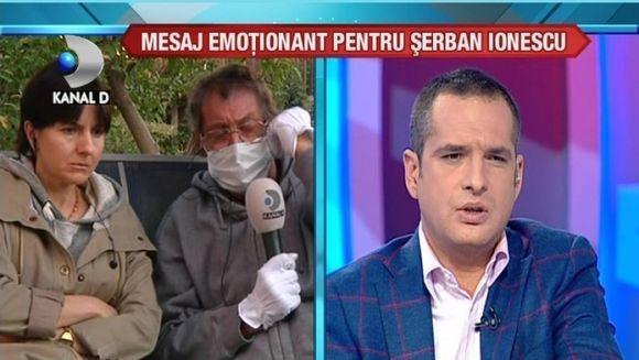 Serban Ionescu a fost scos afara pentru prima data VIDEO