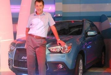 "Un bucurestean a castigat marele premiu la ""Roata norocului"": un Mitsubishi ASX"