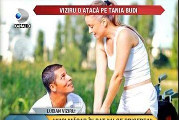 "Lucian Viziru, ATAC DUR la Tania Budi: ""Nici macar in pat nu se pricepe"" VIDEO"