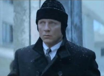 """Imagini cu Gara de Nord din Timisoara, in campania de promovare a noului film din seria """"James Bond"""" VIDEO"""