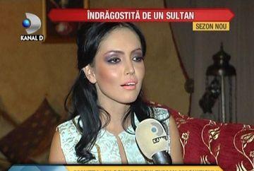 "Andreea Mantea viseaza la un sultan! ""Este o poveste de dragoste incredibila"" VIDEO"