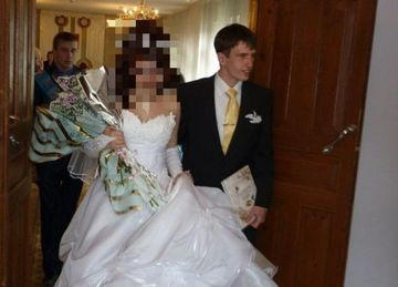 Asa ceva n-ati vazut NICIODATA la o nunta. Cum s-a prezentat o MIREASA in ziua nuntii! FOTO