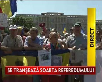 Curtea Constitutionala a decis INVALIDAREA REFERENDUMULUI. Traian Basescu SE INTOARCE la Cotroceni VIDEO