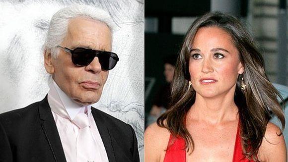 Karl Lagerfeld o desfiinteaza pe Pippa Middleton! Uite ce a spus designerul despre sora lui Kate VIDEO