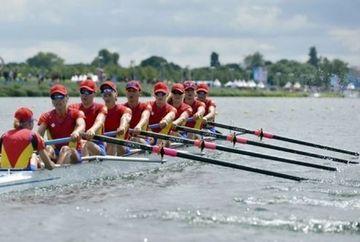 JOCURILE OLIMPICE 2012 - canotaj: echipajul de 8+1 al Romaniei s-a calificat IN FINALA